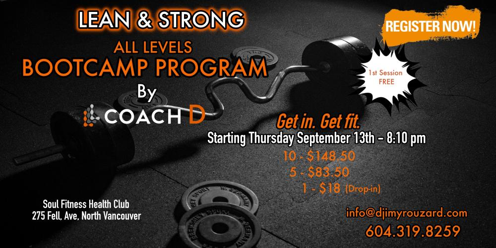 FALL BOOTCAMP PROGRAM
